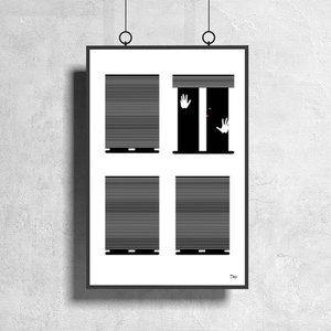 Mas Wall Art - Hello World - Let me out